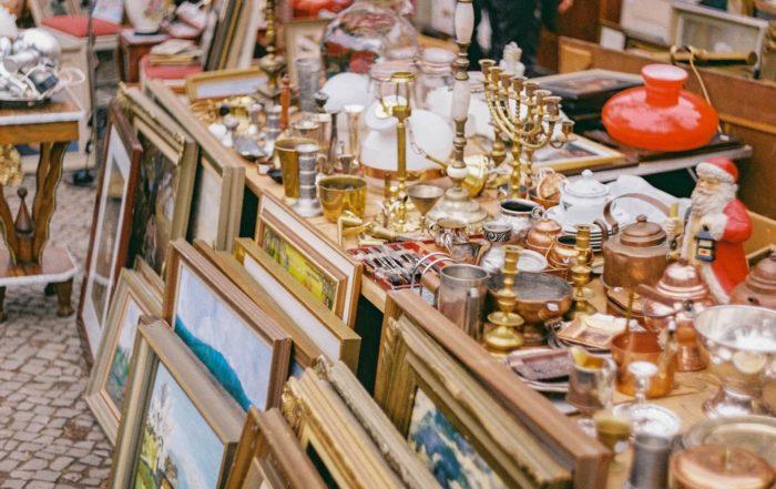 Möbel vom Flohmarkt
